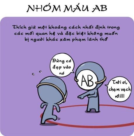 Nhóm máu AB thích sống tách biệt và nghiêm khắc